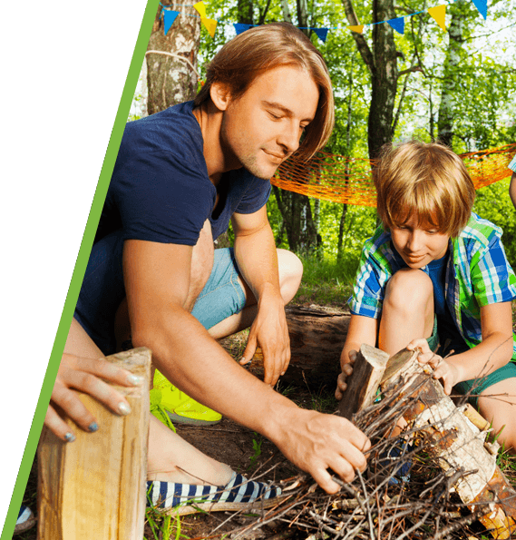 Bush Craft Gortin Outdoor Activity Centre
