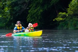 Canoeing Gortin Outdoor Activity Centre