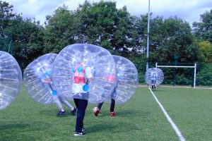 bubble football Gortin Outdoor Activity Centre