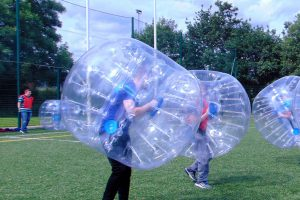 bubble football ireland