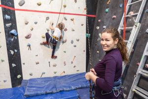 Wall Climbing Gortin Outdoor Activity Centre